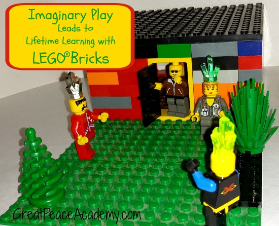 Imaginary Play leads to lifetime of learning with LEGO Bricks. | Great Peace Academy