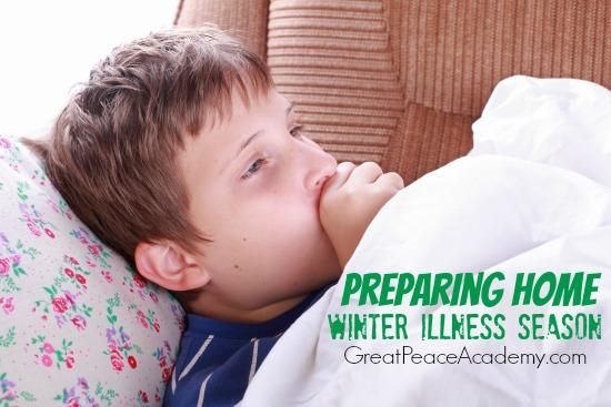 Preparing home for winter illness season. | Great Peace Academy