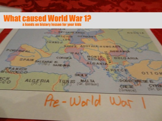 What-caused-World-War-1-hands-on-history-lesson