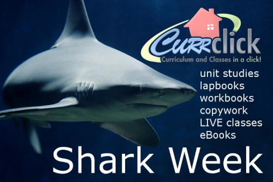 Currclick Sharks Learning Resources for Shark Week