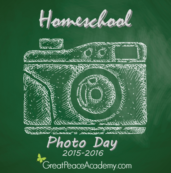 Homeschool Photo Day 2015-2016 at Great Peace Academy