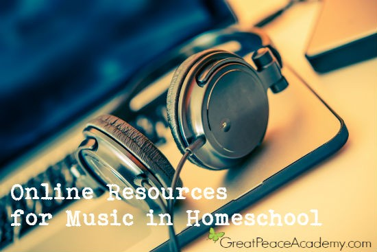 Online Resources for Teaching Music in Homeschool | Great Peace Academy #ihsnet