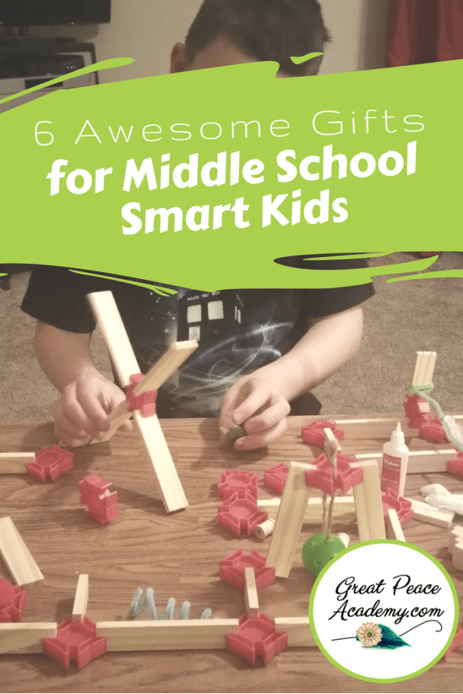 6 Awesome STEM Gifts for Middle School Smart Kids | GreatPeaceAcademy.com #ihsnet