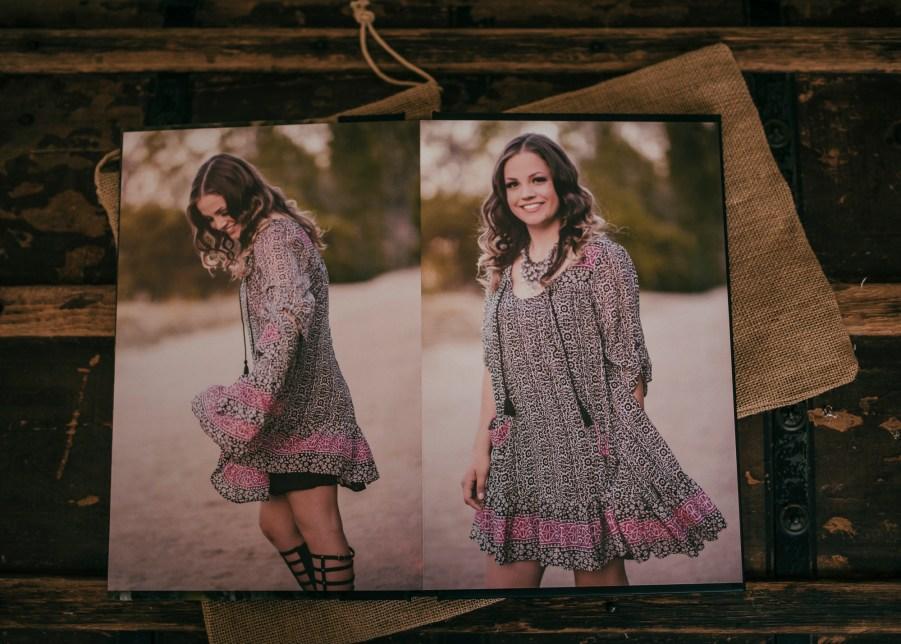 custom designed albums, senior portraits, renee bowen products