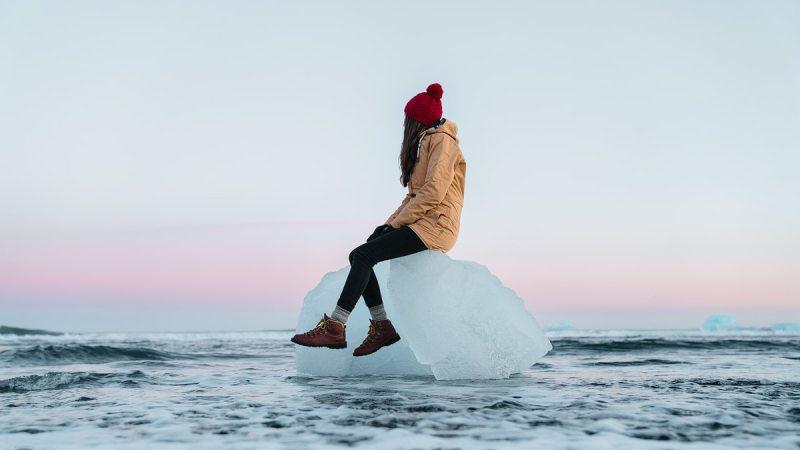 Iceland, Jokulsarlon Iceburg - Renee Roaming