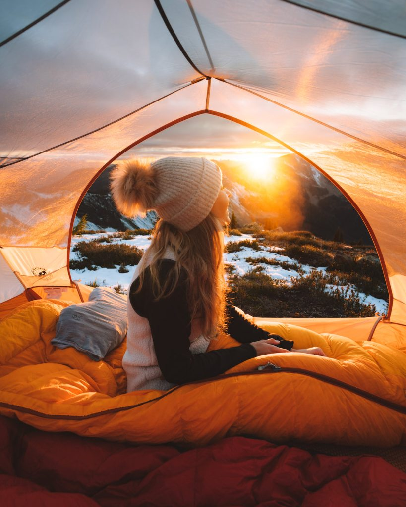 Ultimate Guide to Winter Hiking and Camping - tips for staying warm winter camping
