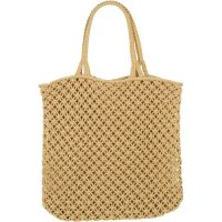 What to Pack for a Tropical Vacation to The Islands of Tahiti The Beach People Macrame Cotton Cord Tote