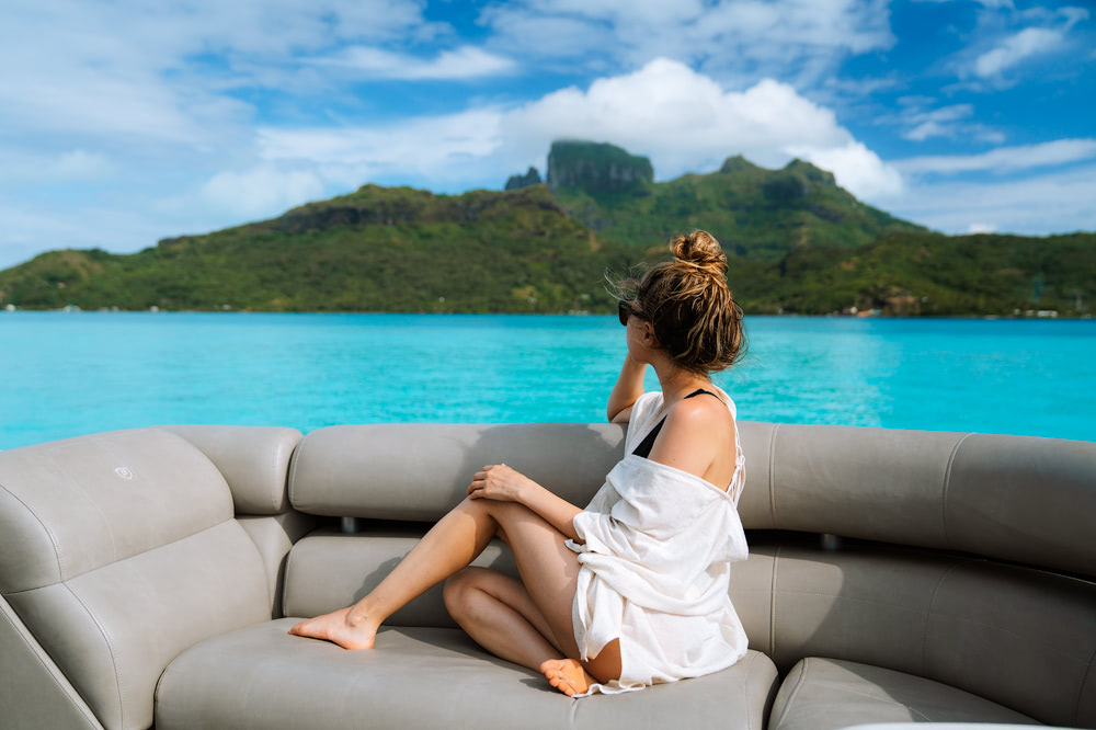 The Ultimate Romantic Couples Getaway to Bora Bora French Polynesia Boat Tour