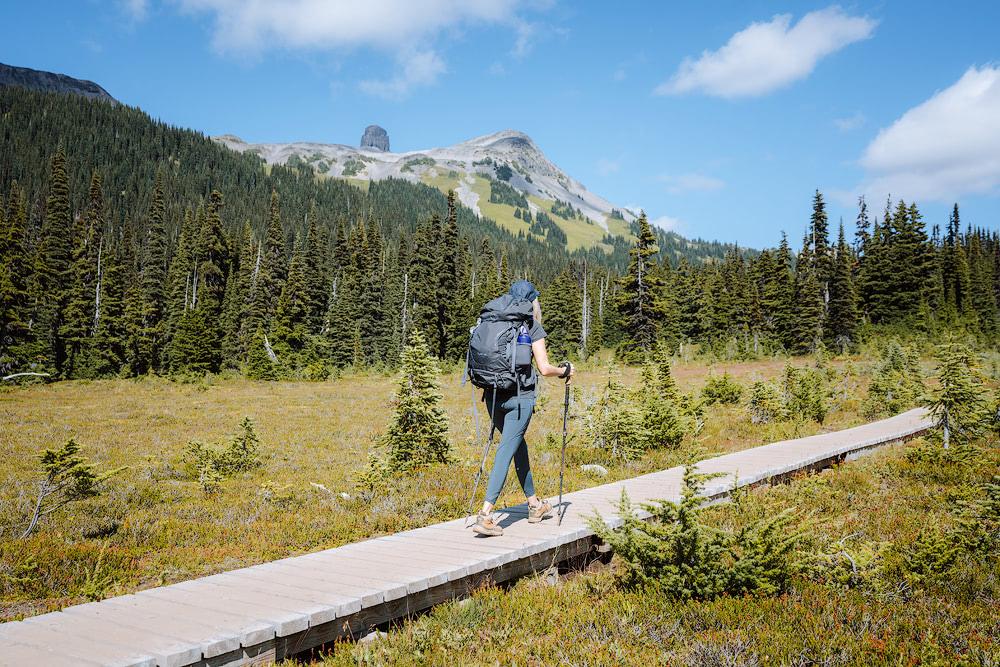 Garibaldi Provincial Park Panorama Ridge Overnight Backpacking Trip Boardwalk