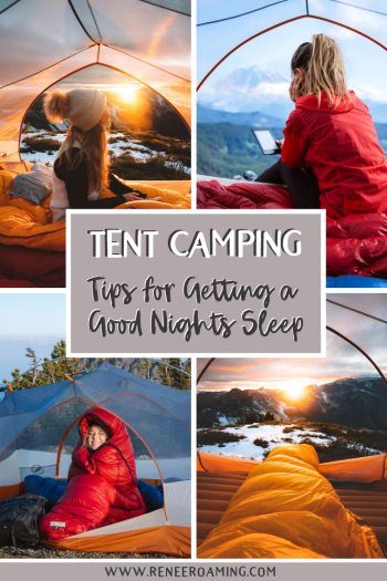 9 Tips for Getting a Good Night's Sleep when Backcountry Camping