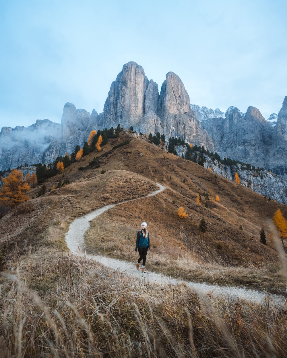 Plan the Ultimate Fall Road Trip to the Dolomites of Italy - Gardena Pass