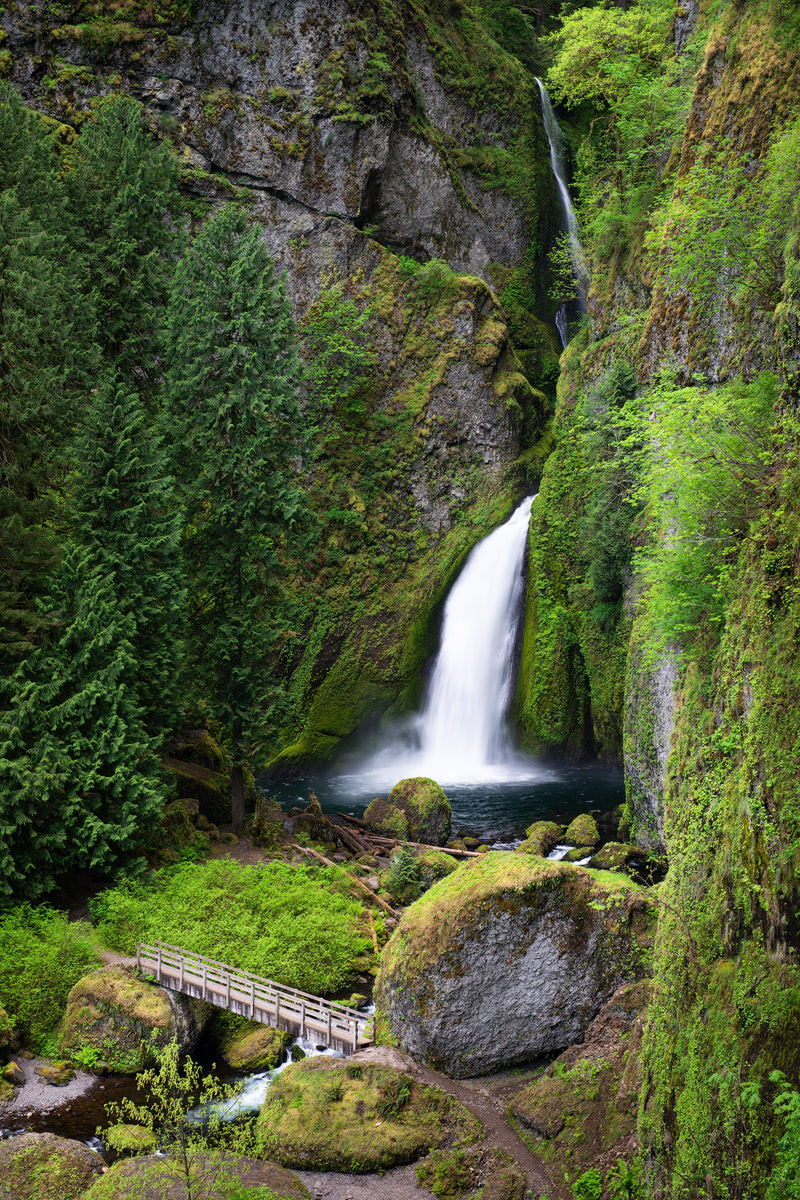 Scenic Oregon 7 Day Road Trip Exploring the Mountains and Coast - Columbia River Gorge Wahclella Falls