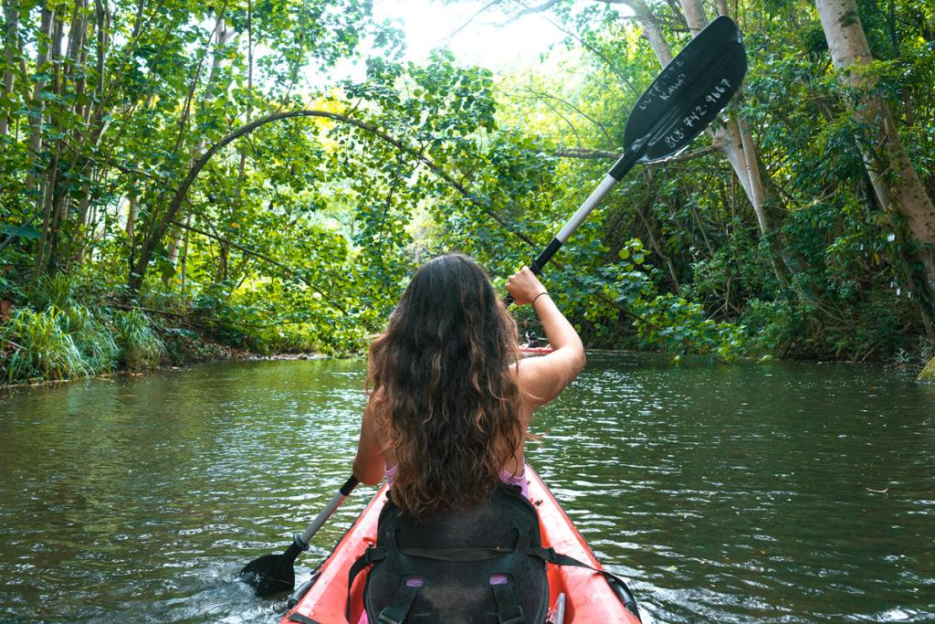 9 Must-Do Kauai Outdoor Adventures - Kayak Wailua River - Renee Roaming