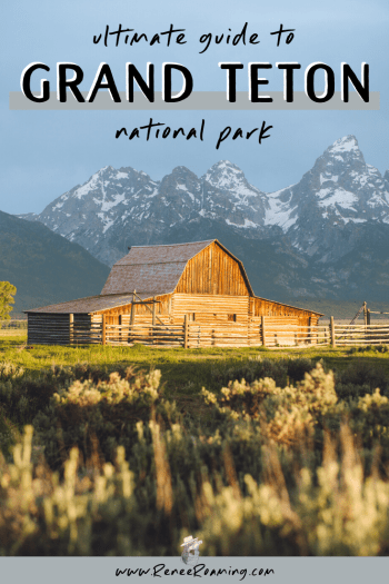 Grand Teton National Park is one of my favorite places on earth! It's home to insanely beautiful mountain peaks (including the Grand Teton itself sitting at 14,000 feet), abundant wildlife, world class hiking terrain, and picturesque landscapes everywhere you turn. Want to experience it for yourself? Keep reading for an in-depth guide on Grand Teton National Park and find out why it should be at the top of your bucket list!
