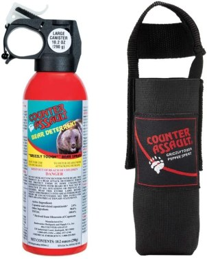Must Know Bear Safety when Hiking and Camping - Bear Spray