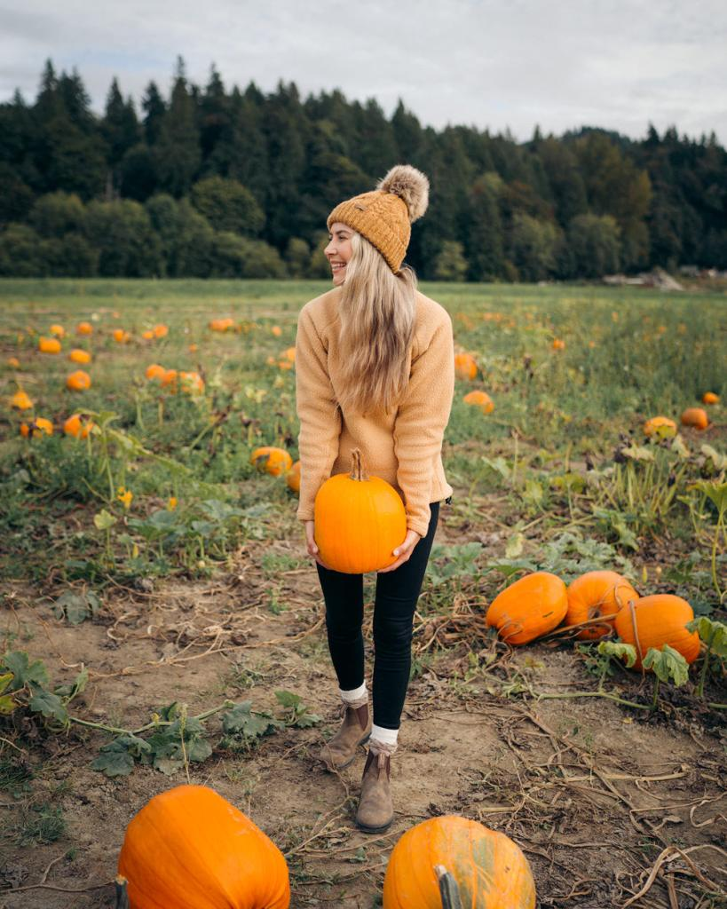 Best outdoor things to do during fall in Washington State - Craven Farms pumpkin patch