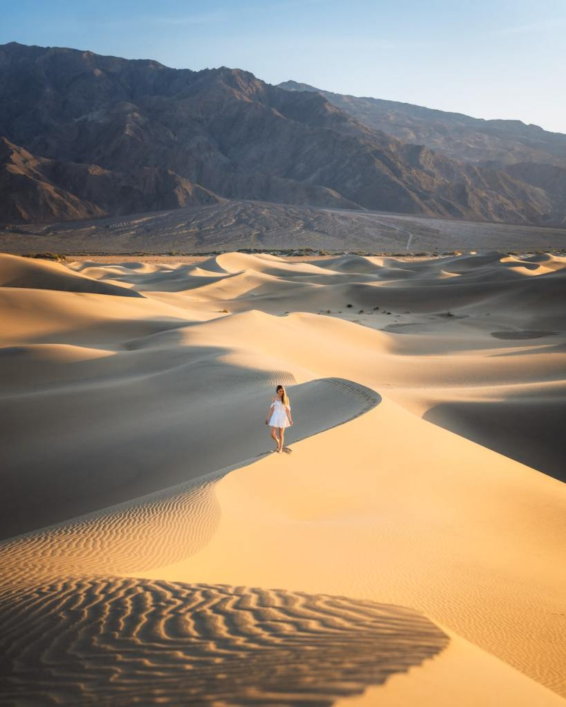 12 Best National Parks to Visit in Winter - Death Valley National Park Sand Dunes