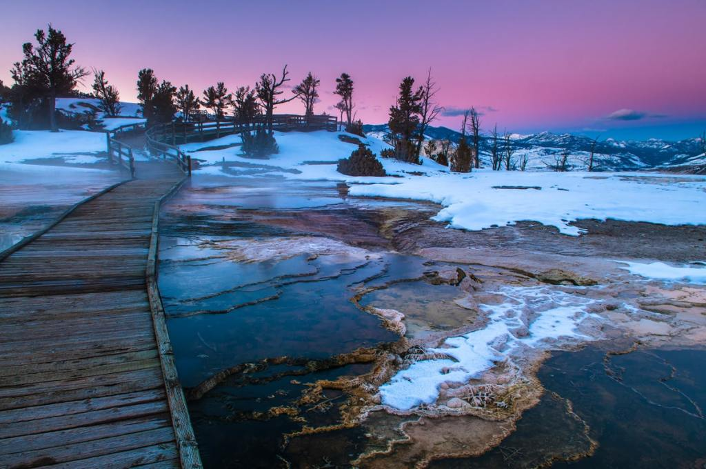 12 Best National Parks to Visit in Winter - Yellowstone National Park Geysers