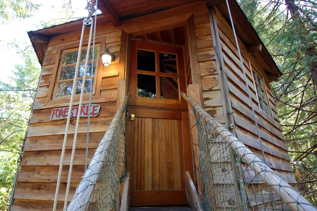 20 Magical Oregon Treehouses You Can Rent - Forestree Oregon Treehouse to Rent