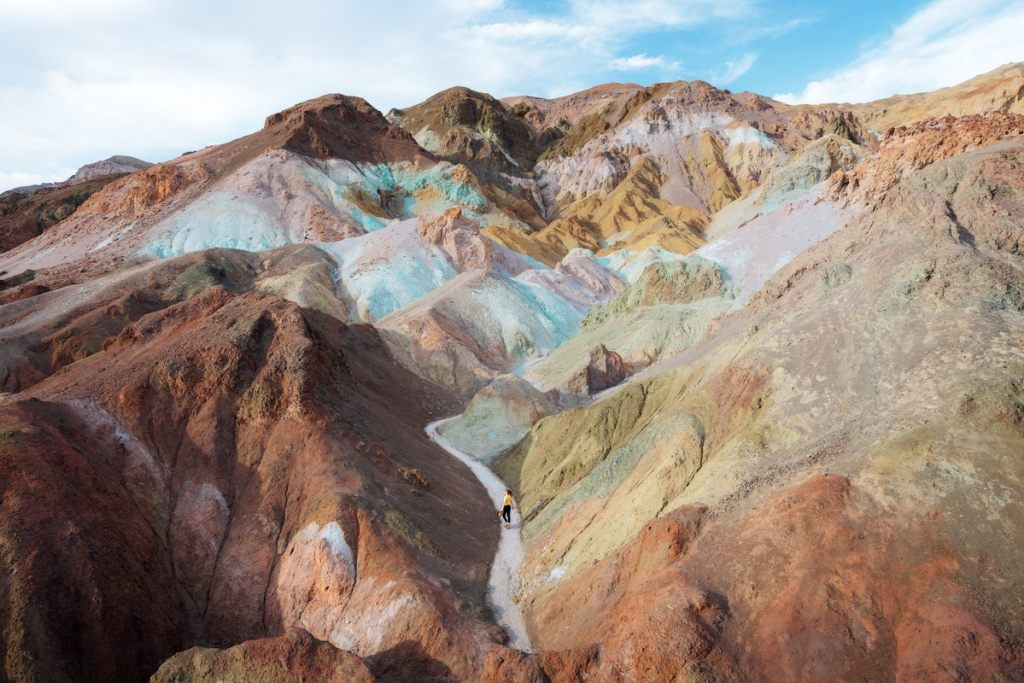 Best National Parks to Visit in Spring - Death Valley National Park - Artist Palette