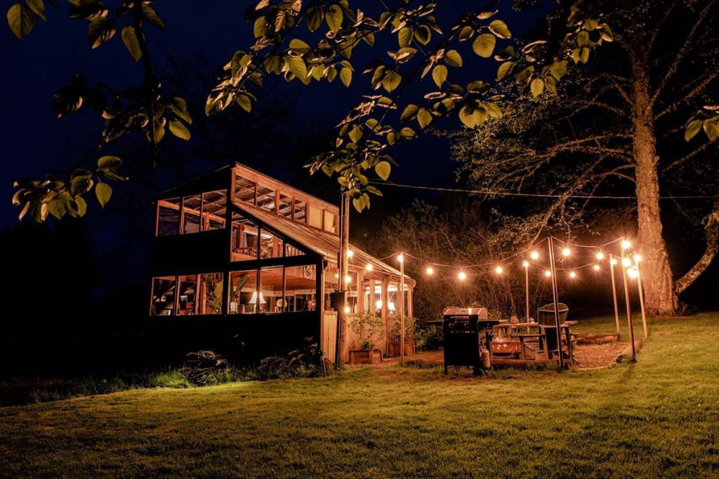 Stay on an Organic Farm in Oregon - Glamping Cabin
