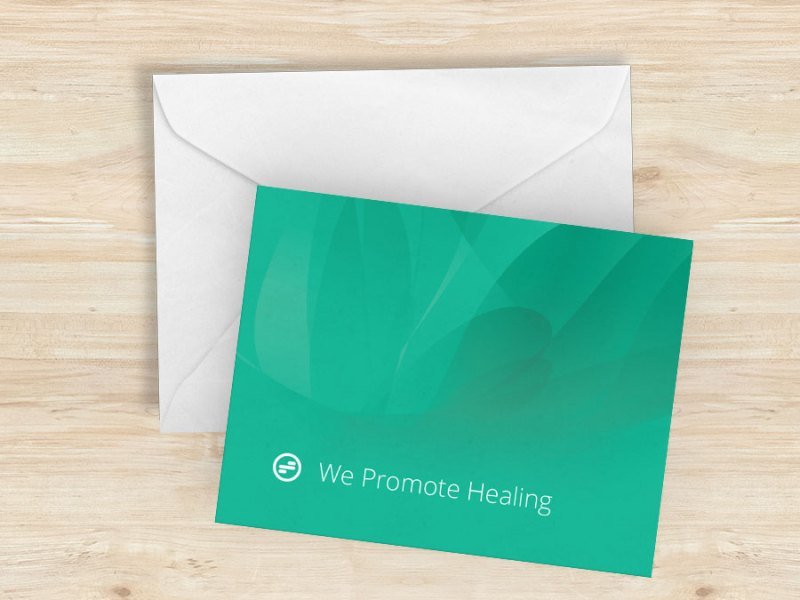 Notecards: We Promote Healing