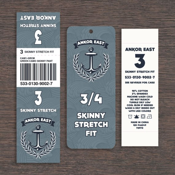 Ankor East Pant Tags