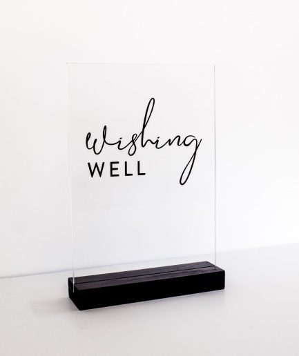 wishing-well-sign-acrylic