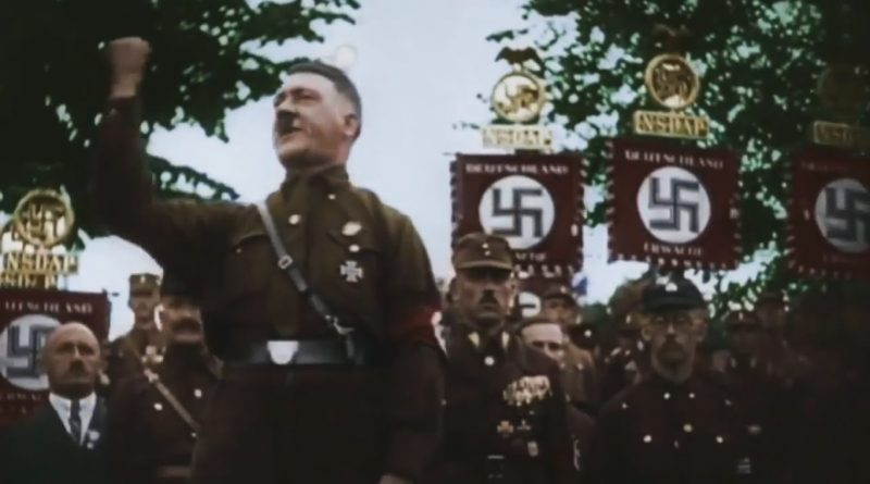 adolf hitler victorious