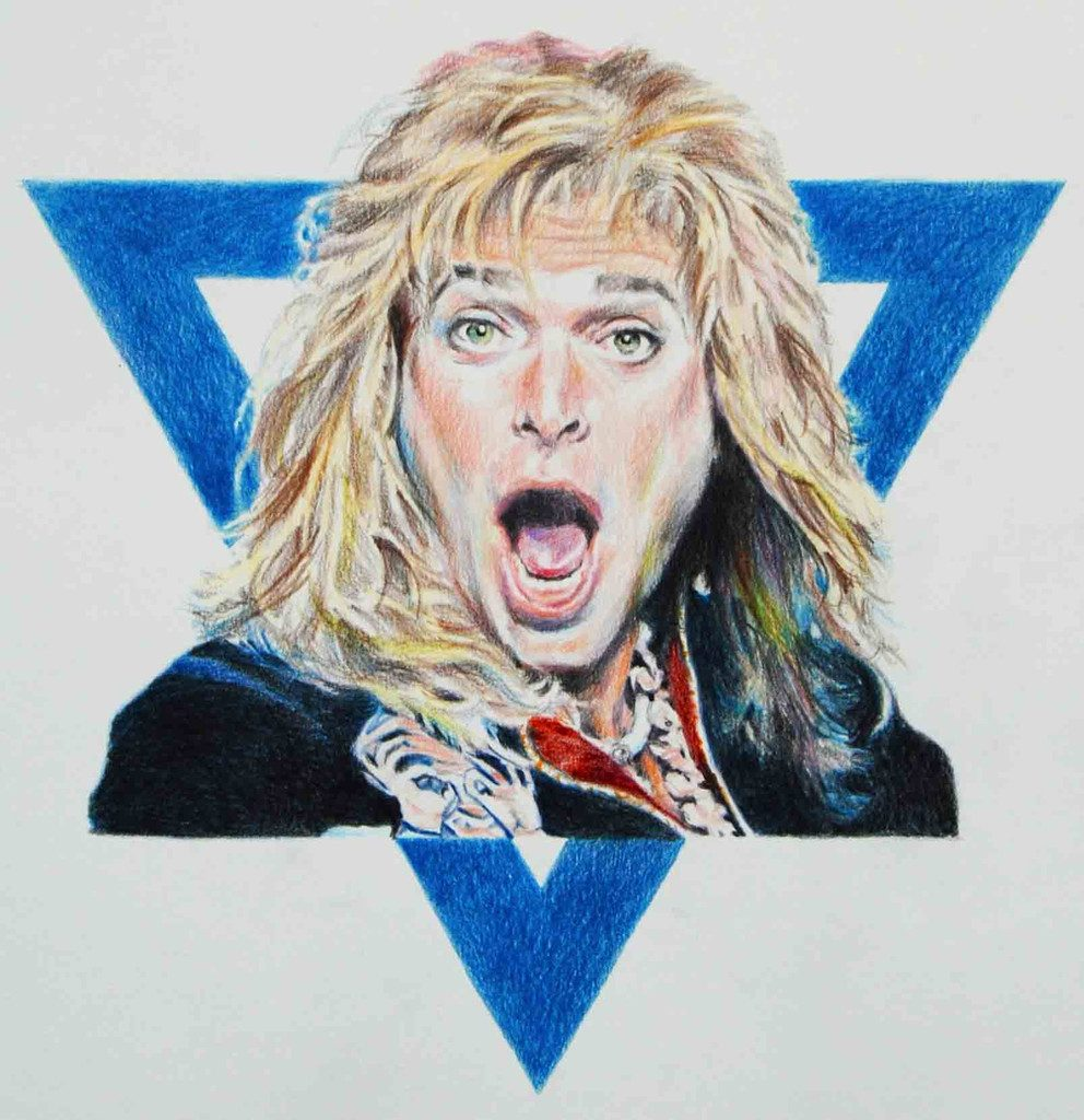 David Lee Roth by Eric Yahnker's Design