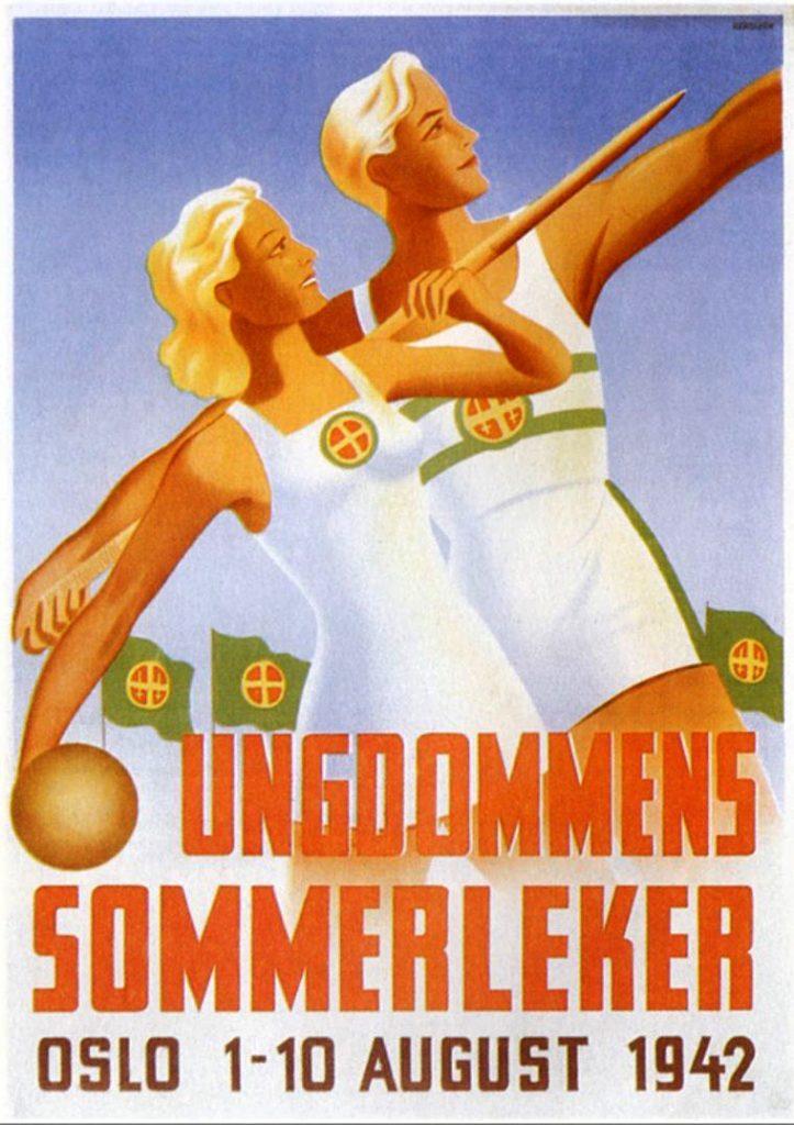 harald-damsleth-ungdommens-sommerleker-1942