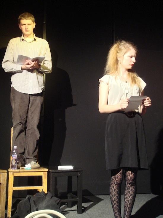 Divadelní Violky 3 – zkouška