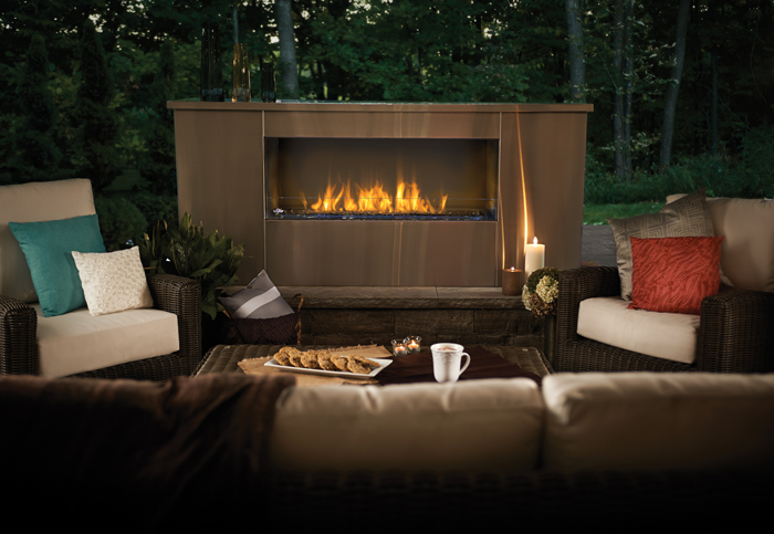 The Napoleon Galaxy™ Outdoor Gas Fireplace