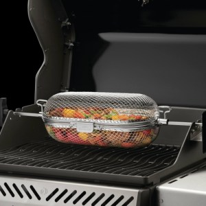 rotissierie basket grilling accessory available at Rene's Total Home Comfort Ltd. Campbellford, ON