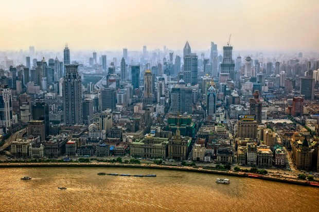 Skyline view of Shanghai