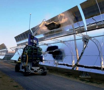 Solar Thermal Electric PARIS quotbuffs upquot solar fields