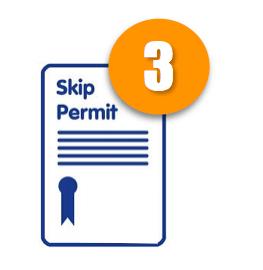 Skip hire Glasgow-permit