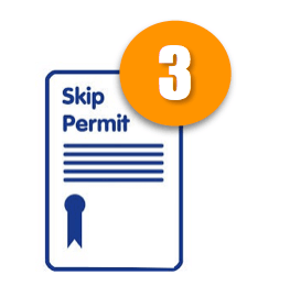skip permit in Glasgow