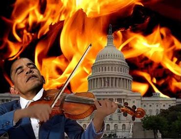 Image result for fiddles obama rome burns