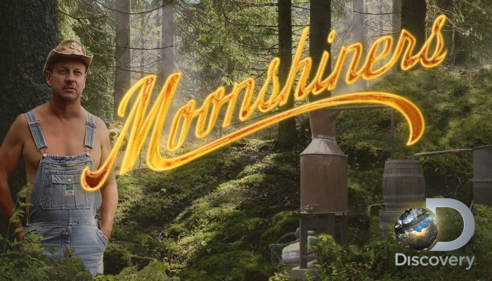 Moonshiners New Spinoff Whiskey Business