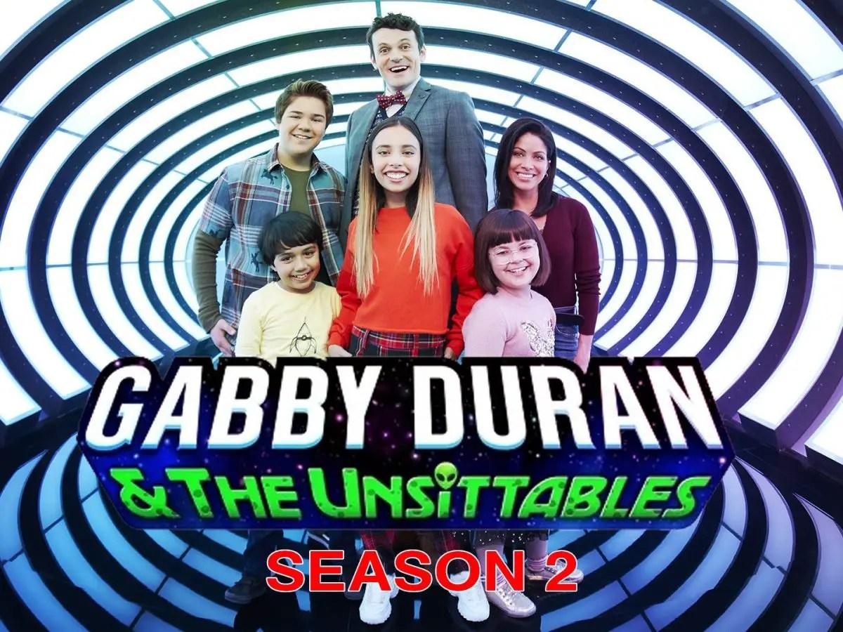 Disney Releases 'Gabby Duran & the Unsittables' Season 2 Premiere Date +  Trailer - RenewCancelTV