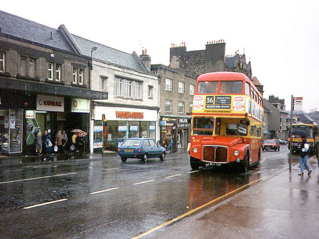 Johnstone High Street 1989 Renfrewshire News