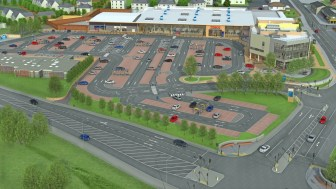 How the new Linwood Town Centre will look.