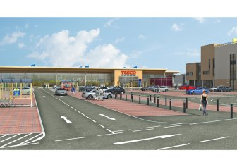 Tesco Store Linwood (artists impression)