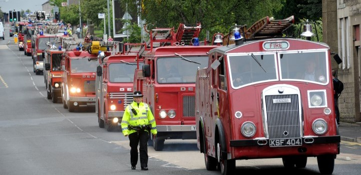 Fire Engine Rally set to return to Johnstone in August