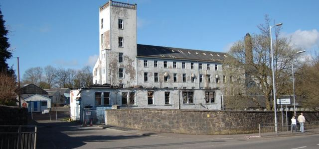 Renfrewshire Council give builders consent to demolish Paton's Mill