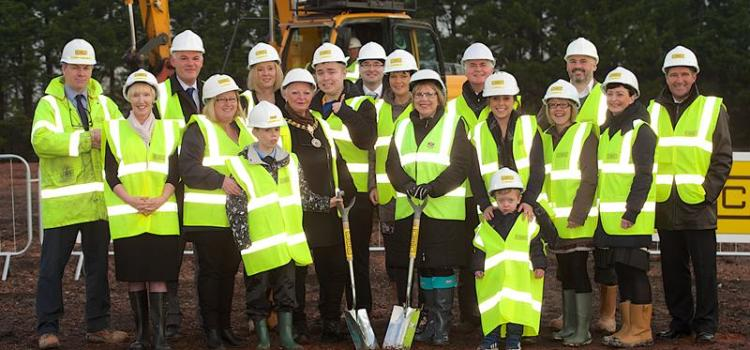 Work on new £18.8m school begins in Linwood