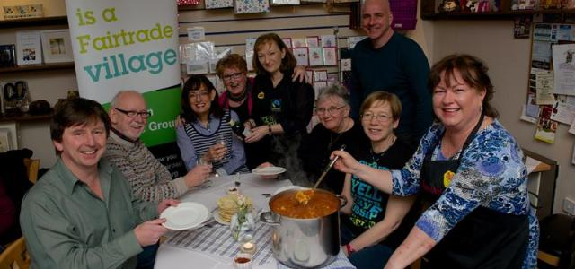Community groups curry flavour for Fairtrade Fortnight