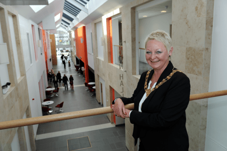 Johnstone Town Hall opens - Provost Anne Hall