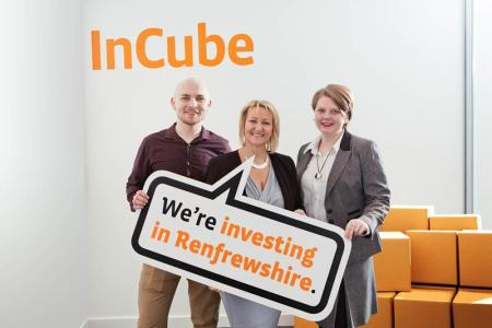 Renfrewshire's InCube Team launches the competition to win a year's business support